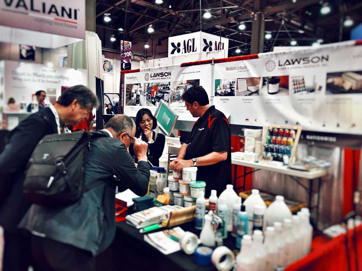 Lawson Supplies Booth