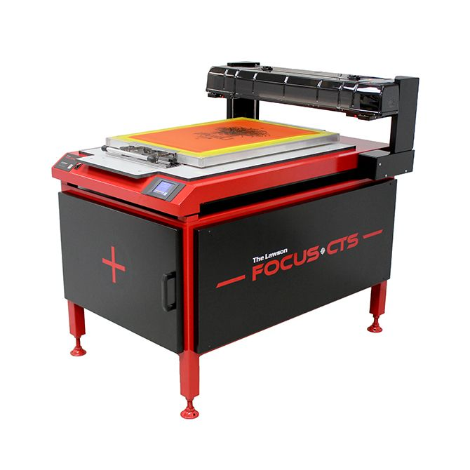 Focus Computer to screen - Screen Printing Machine
