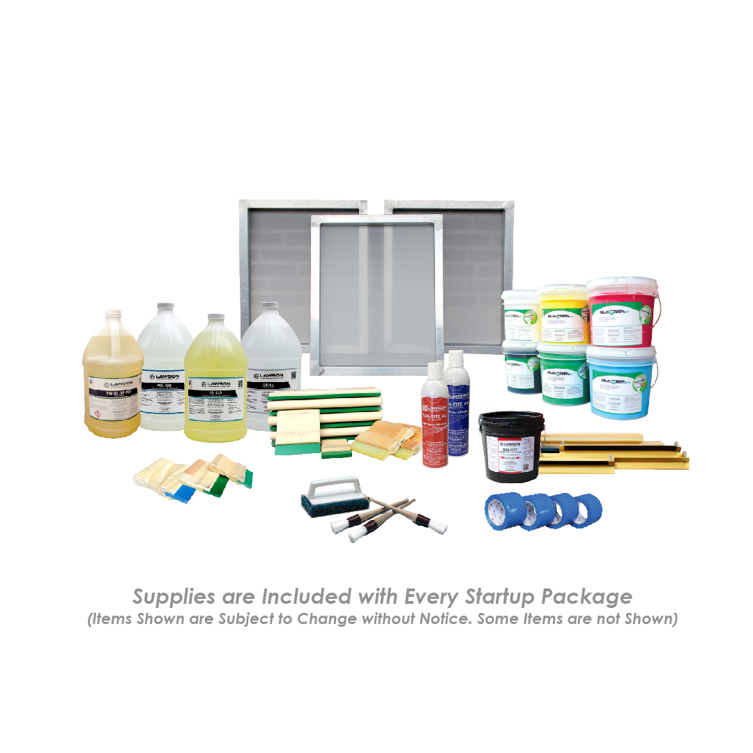 Intermediate Screen Printing Equipment Kit