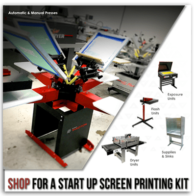 ScreenPrintingStartUpKitEquip