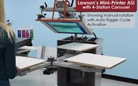 Lawson Mini-Printer ASI with 4-Station Carousel Video