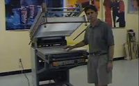 Graphic Screen Printing Press