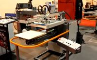 SGIA 2011 - Lawson Mini-Printer/ASI Vertical Lift  Automatic Screen Printing Press