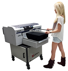 Epson SureColor F2000 DTG printer - Custom T-Shirt Business
