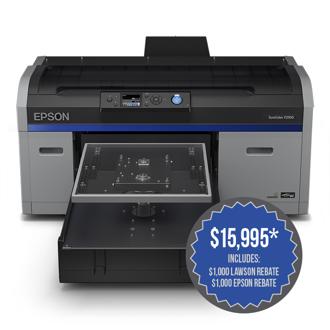 Epson SureColor F2100 DTG Printer - Direct-To-Garment Printing