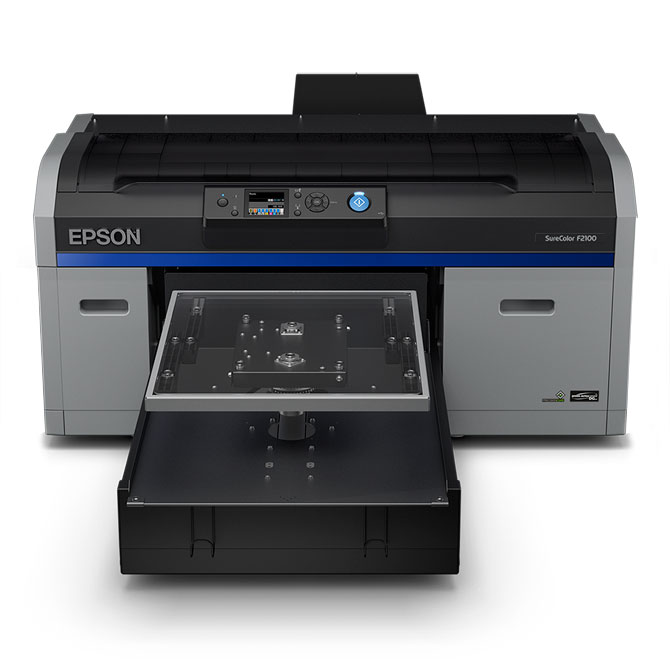 Epson SureColor F-2100 Series Direct-To-Garment Inkjet Printer