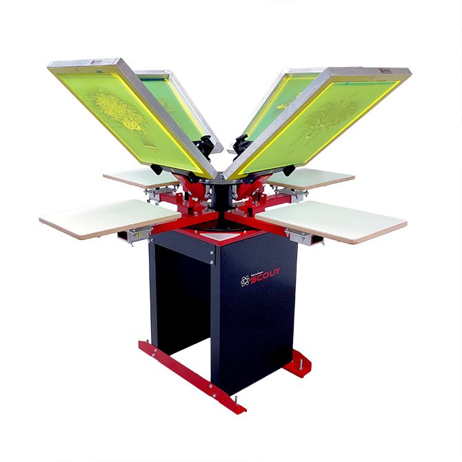 Scout Screen Printing Machine
