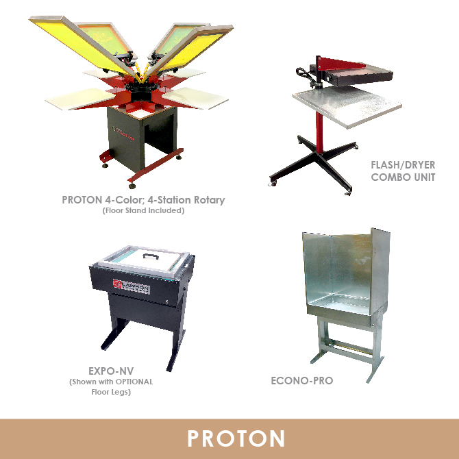 Proton Screen Printing Equipment Kit