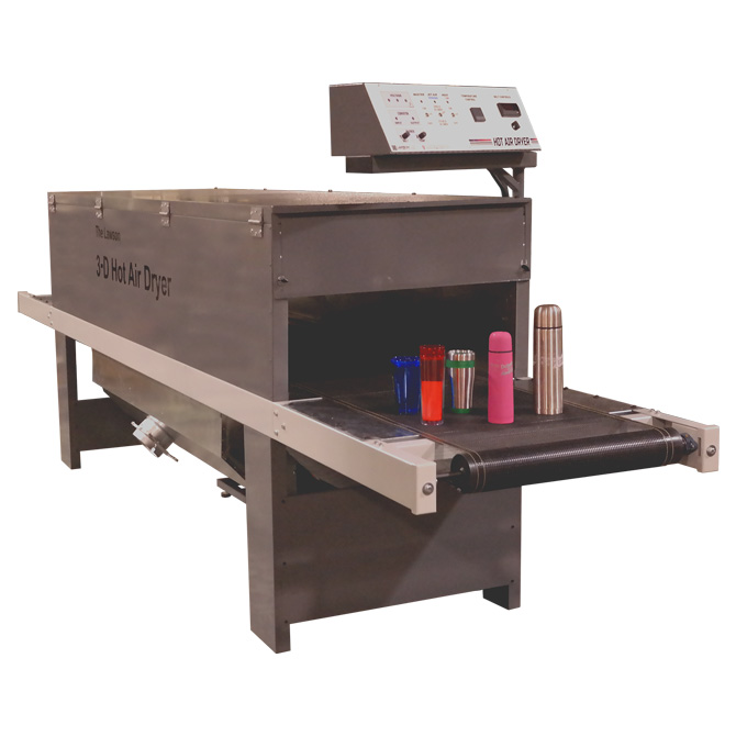 3-D Hot-Air Jet Dryer - Graphic Screen Printing Dryer
