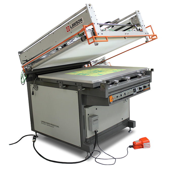 Lawson Seneca Automatic Graphic Screen Printing Press - Graphic Screen Printing Press