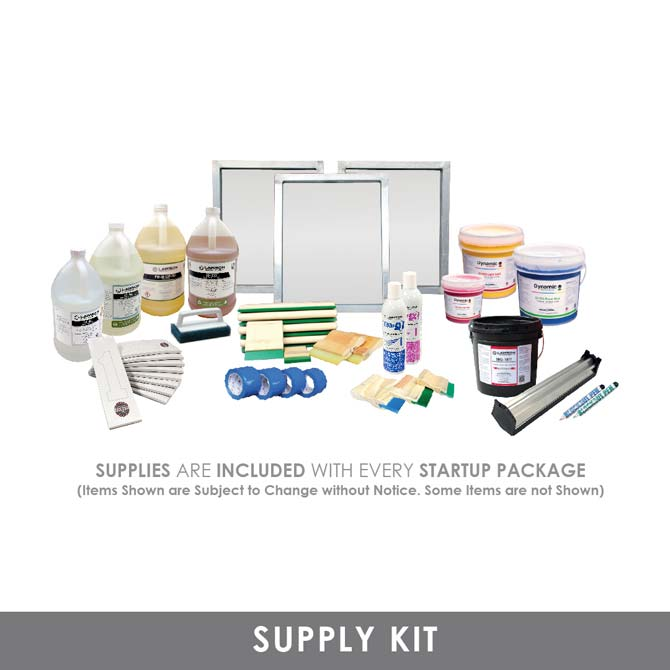 Advance Screen Printing Start Up Kit