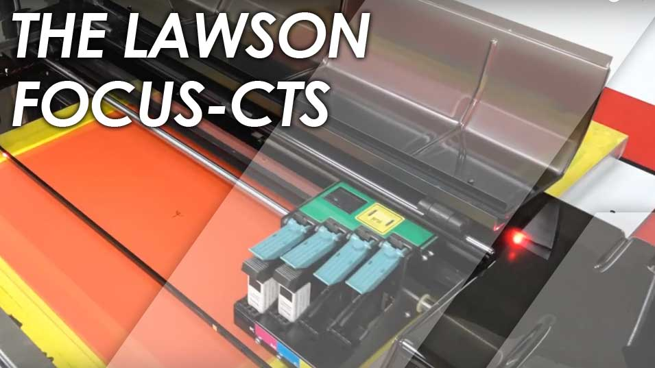 Lawson Focus CTS Demonstration - Screen Printing Equipment