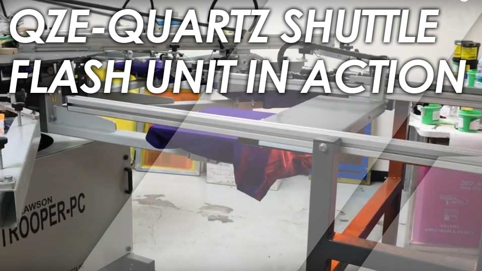 QZE Shuttle flash Cure Unit