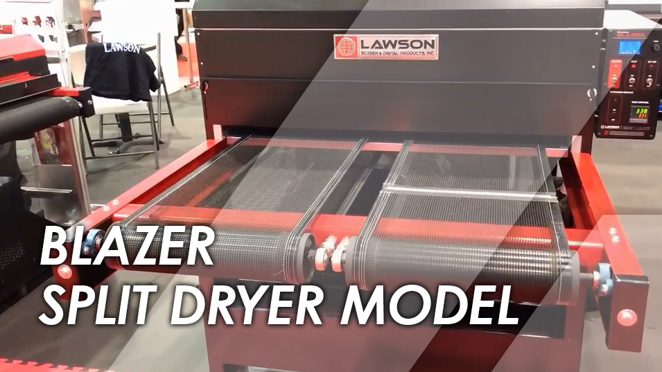 Lawson Blazer Split Belt Conveyor Dryer