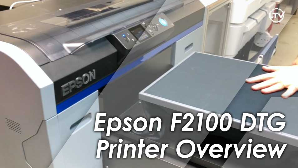 Epson SureColor F2100 DTG Printer Overview