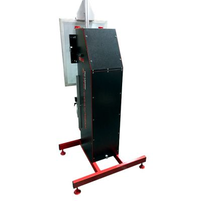 Auto Coat Semi Screen Coater Back View