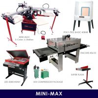 Mini-Max Start-Up Screen Printing Package