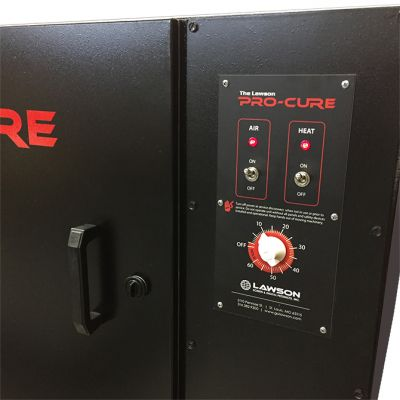 Pro Cure Dryer Control Panel