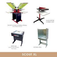 Scout XL Start-Up Screen Printing Package