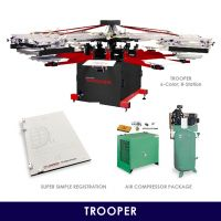 Trooper Start-Up Screen Printing Package